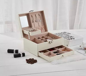 Jewellery box (multiple colours & sizes)