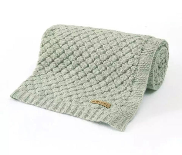 Knitted blanket (multiple colours)