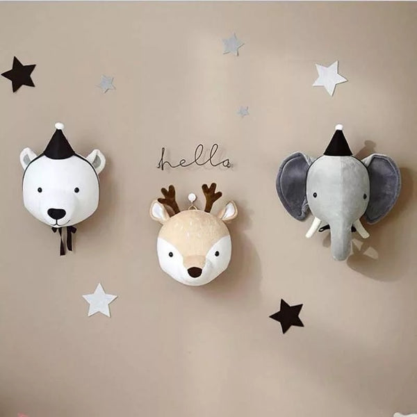 Animal wall mount (3 options)