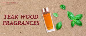 TEAK WOOD FRAGRANCES THE SMELL OF NATURE CONDENSED IN A BOTTLE INSIDE YOUR PERFUME WARDROBE