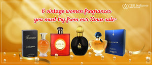 6 vintage women fragrances you must try from our Xmas sale!