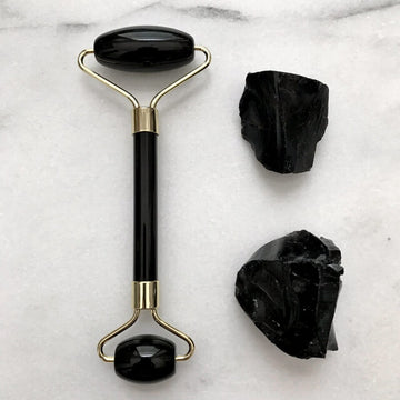 Obsidian Gemstone Roller | Eco Friendly | Home Essentials