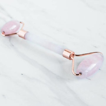 Rose Quartz Gemstone Roller | Eco Friendly | Home Essentials