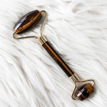 Rare Tiger's Eye Gemstone Roller | Eco Friendly | Home Essentials