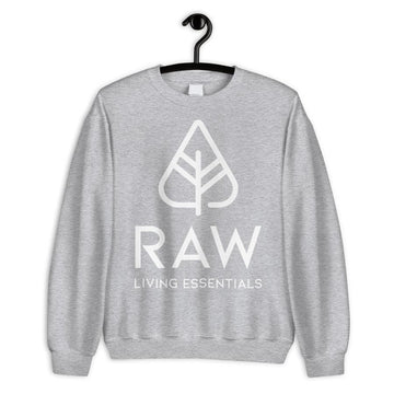 RAW LIVING ESSENTIALS | Gray Oversized Sweater