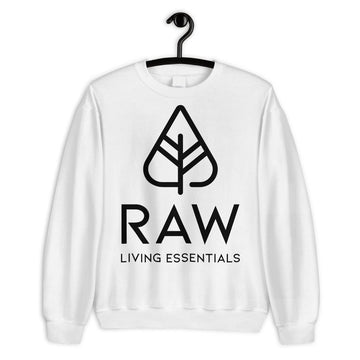 RAW LIVING ESSENTIALS | White Oversized Sweater
