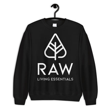 RAW LIVING ESSENTIALS | Black Oversized Sweater