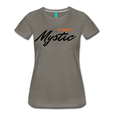 MAGIC WHEELS MYSTIC Women's Premium T-Shirt - asphalt gray
