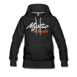 MAGIC WHEELS MYSTIC ZONE Women's Premium Hoodie - black