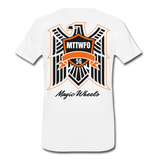 MAGIC WHEELS Men's Premium T-Shirt - white
