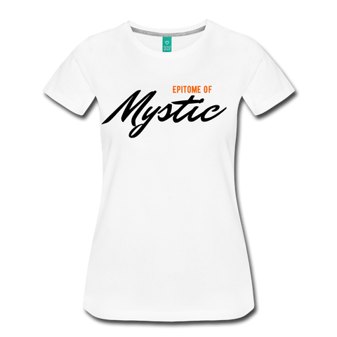 MAGIC WHEELS MYSTIC Women's Premium T-Shirt - white