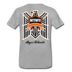 MAGIC WHEELS Men's Premium T-Shirt - heather gray