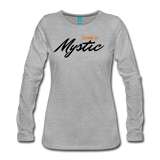 MAGIC WHEELS MYSTIC Women's Premium Long Sleeve T-Shirt - heather gray