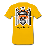 MAGIC WHEELS Men's Premium T-Shirt - sun yellow