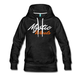 MAGIC WHEELS MYSTIC ZONE Women's Premium Hoodie - charcoal gray