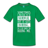 Kids' Premium T-Shirt NORMAL - kelly green