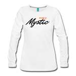 MAGIC WHEELS MYSTIC Women's Premium Long Sleeve T-Shirt - white