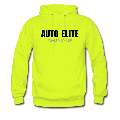 AECC Men's Hoodie - safety green