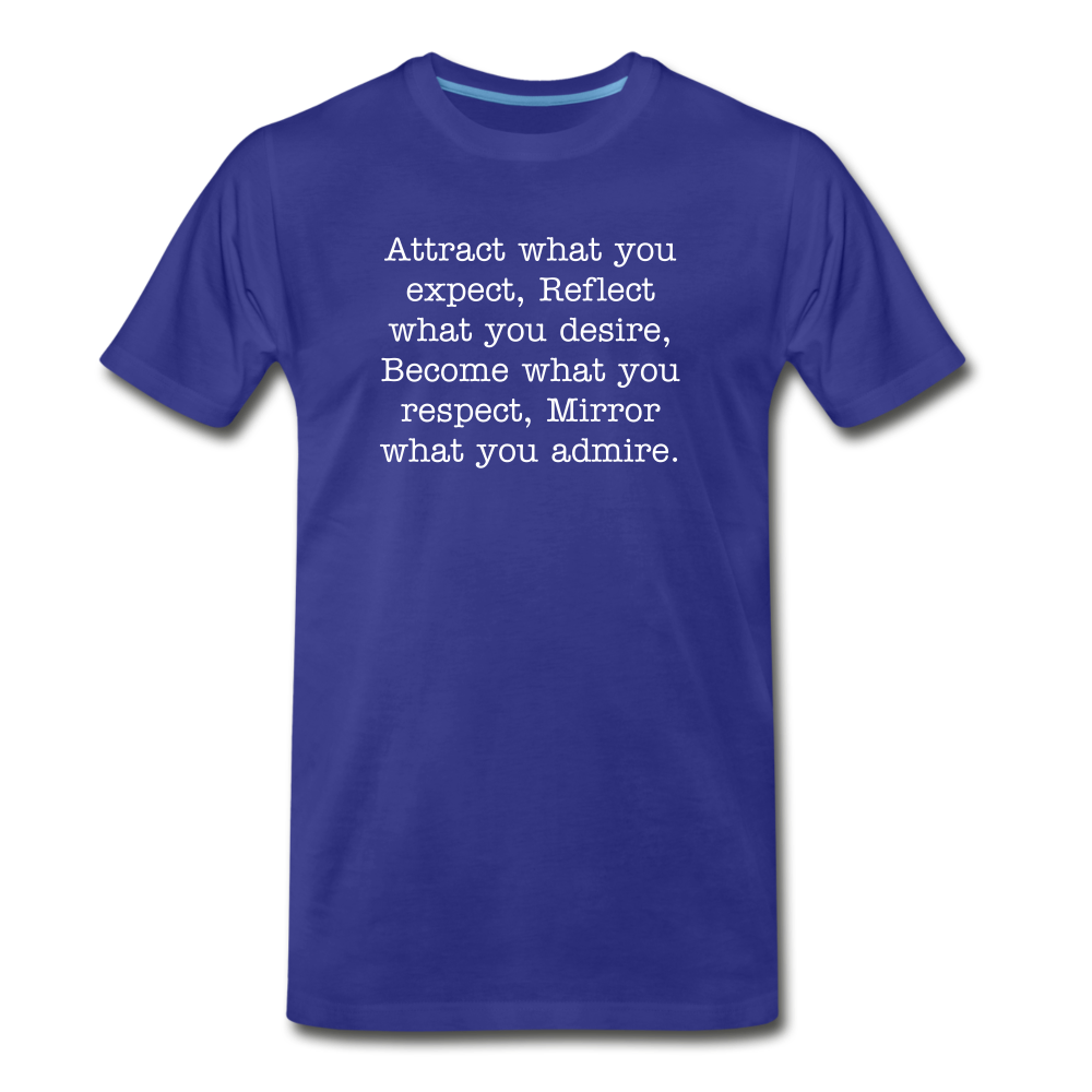 Attract BLUE Men's Premium T-Shirt - royal blue