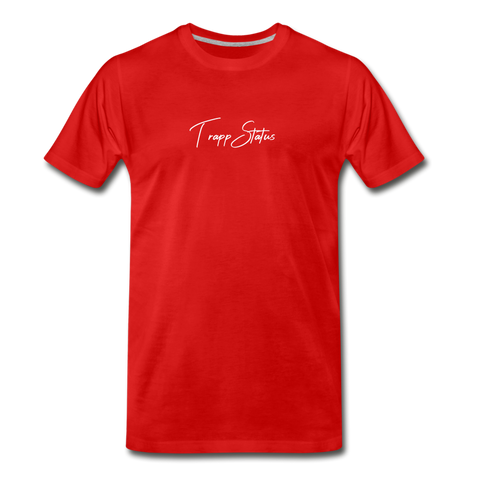 TS LOGO RED Men's Premium T-Shirt - red