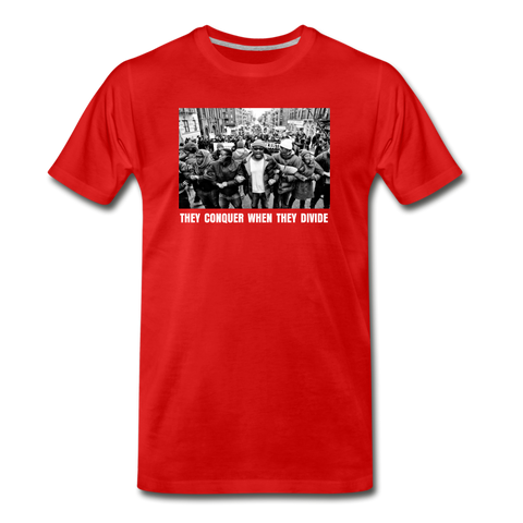 LINK UP RED Premium T-Shirt - red