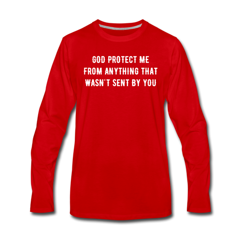PROTECT ME RED Premium T-Shirt - red