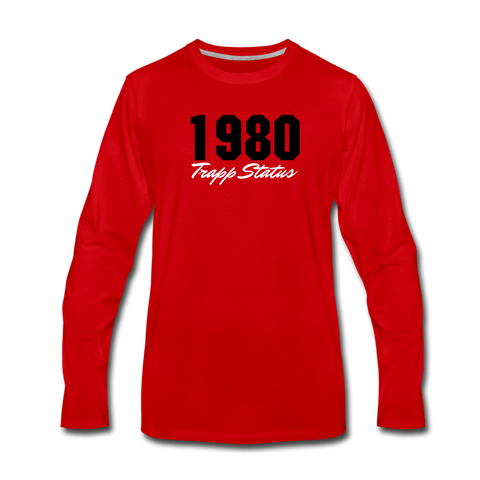 TRAPP 80 RED Premium T-Shirt - red