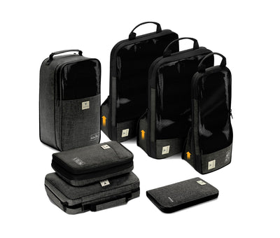 Vasco Bags 7 pc Travel Organizer Set