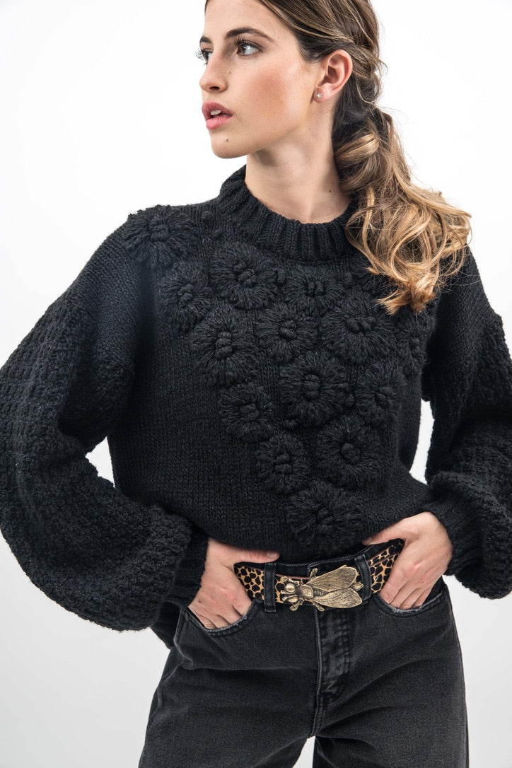 Sweater Audry Negro