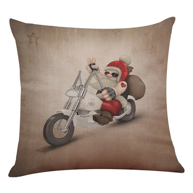 merry christmas decorative pillow case click to expand