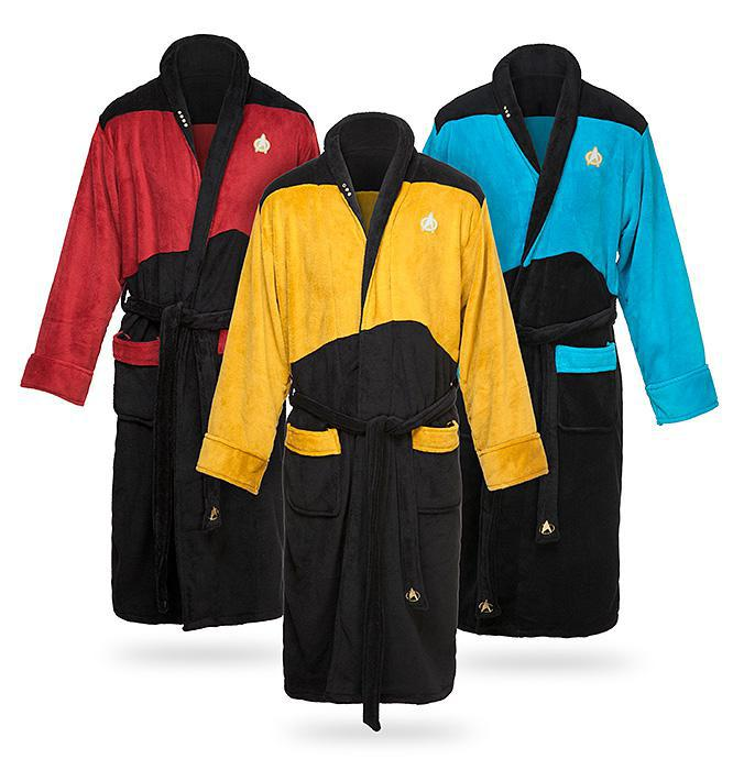 Star Trek TNG Gold Engineering Robe