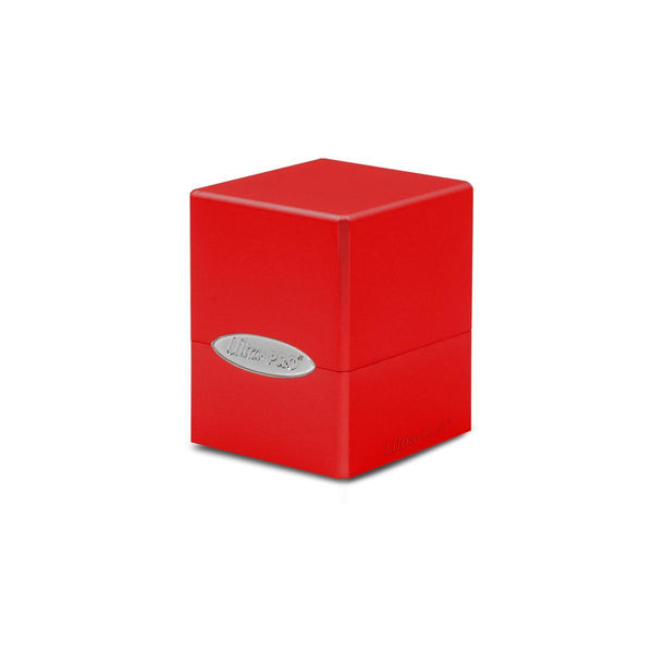 Ultra Pro Deck Box Satin Cube Apple Red
