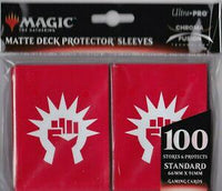 Ultra Pro Guilds of Ravnica 100ct sleeves-Boros