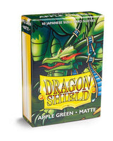 Dragon Shield 60ct Deck Protector Mini Matte Apple Green