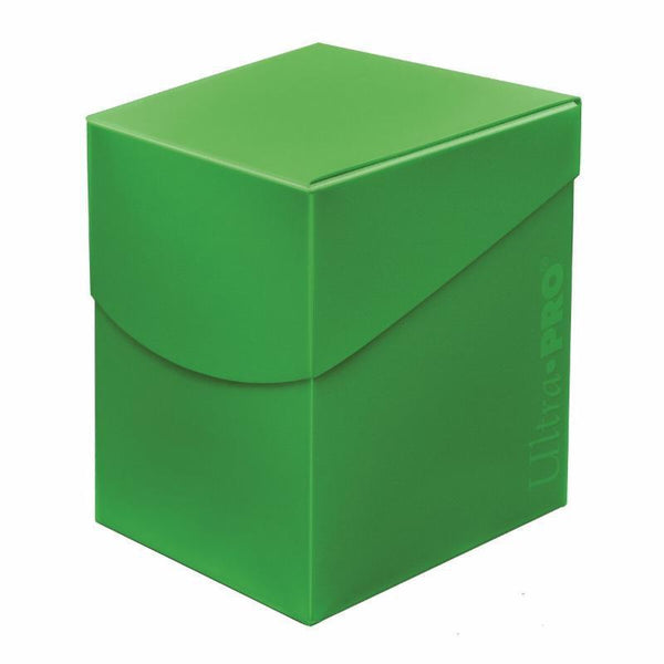 ultra Pro 100ct Lt Green deck box