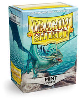 Dragon Shield Mint Matte 100ct box sleeve