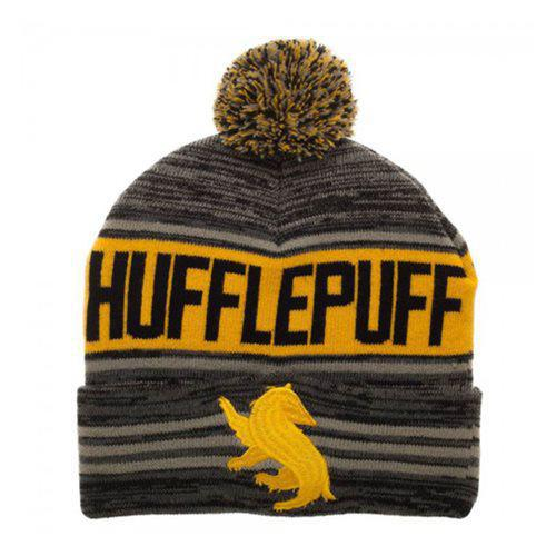 Harry Potter Hufflepuff pom hat