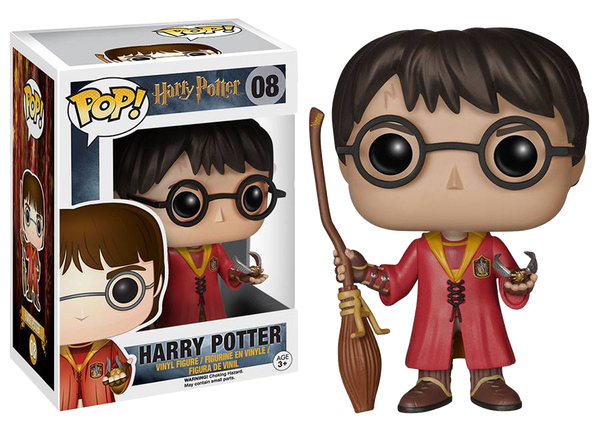 HP Harry Potter Quidditch Funko Pop Figure #08