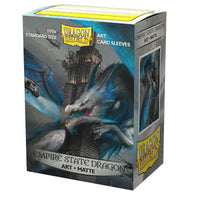 Dragon Shield 100CT Pack Matte Art Empire State Dragon