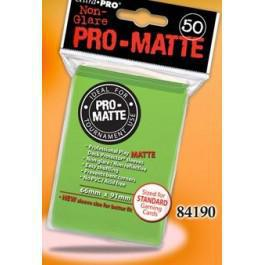 Pro Matte Lime Green 50ct Sleeves