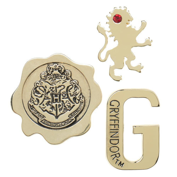 Harry Potter Gryffindor 3 pack Lapel Pin Set