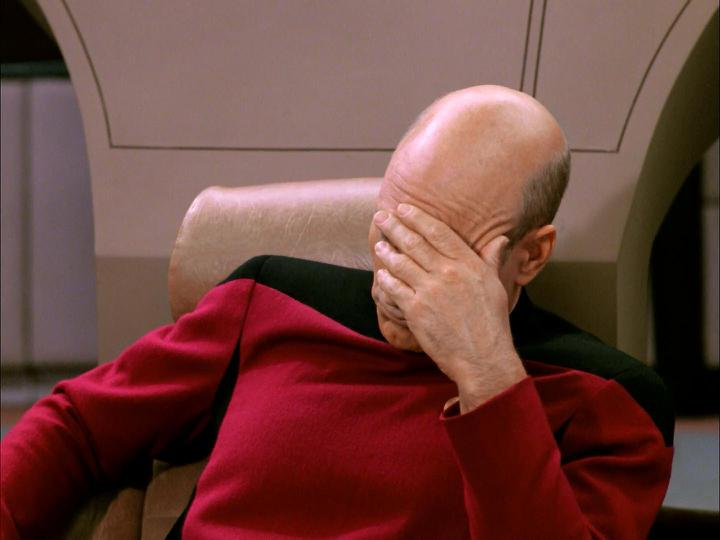 Face Palm Picard