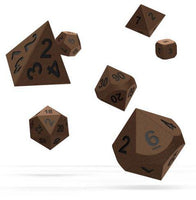 Oakie Doakie Metal Brasstige Dice Set