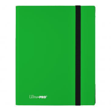 Ultra Pro PRO Binder 9-Pocket Eclipse Lime Green