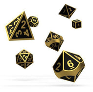 Oakie Doakie Metal Alchemy Gold Dice Set