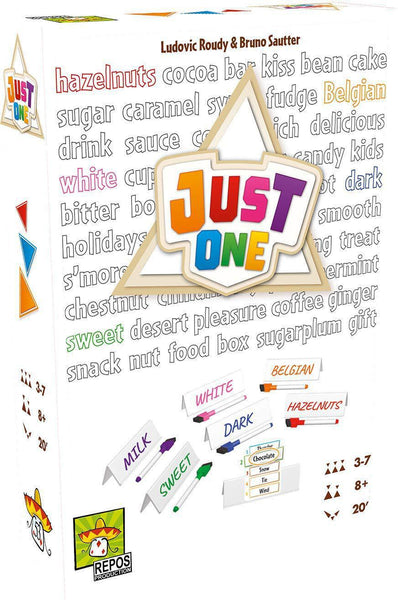 Just One (white box) party game