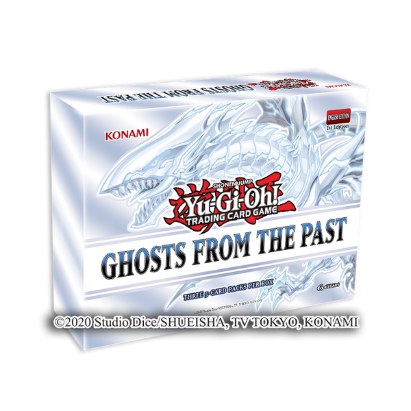 Yugioh Ghosts From the Past Booster Box PREORDER