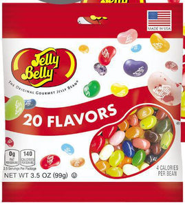 20 Flavor 3.5 oz Jelly Bean Bag