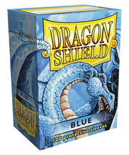 Load image into Gallery viewer, Dragon Shield 100ct STD Sleeve Box Classic Blue