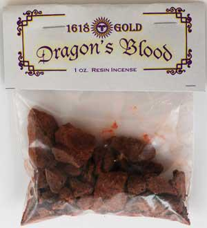 1618 Gold Dragons Blood 1oz bag